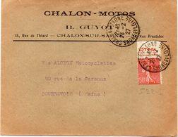 """FRANCE : BANDE DE PUB . 50 Cts LIGNÉE . TYPE 1 . """" VITTEL MAURY - SPINK """" N°69 . 1927 . - Advertising"""