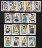 AJMAN  Scott # UNLISTED (Mi # 904-19) VF USED (Stamp Scan # 411) - Ajman
