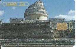 Télécarte Du MEXIQUE - Zones Archéologiques CHICHEN ITZA Yucatan - Paysages