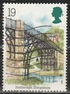 Gran Bretagna 1989 Ironbridge, Shropshire - Architettura | Ponti | UNESCO Patrimonio Mondiale Dell'Umanità - 1952-.... (Elisabetta II)