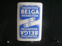 Playing Cards / Carte A Jouer / 1 Dos De Cartes, Inscription  Publicitaire / Cigarettes Belga ( Tabac Leger) - Cigarette Holders