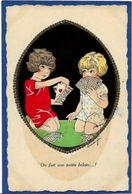 CPA Jeu De Cartes Carte à Jouer écrite EAP 4417 - Cartes à Jouer