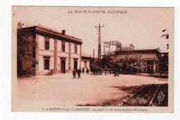 Cazères Sur Garonne - La Gare Et La Sous Station électrique - 31 - - France