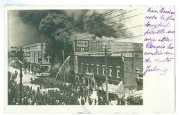 1908, USA, Illinois, Joliet, Fire. Real Photo Pc, Used - Joliet