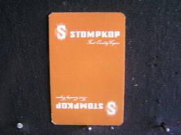 Playing Cards / Carte A Jouer / 1 Dos De Cartes, Inscription  Publicitaire / First Quality Cigars -  S  - Stompkop- - Around Cigars