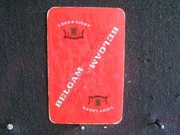 Playing Cards / Carte A Jouer / 1 Dos De Cartes, Inscription  Publicitaire / Cigarettes - Belgam Extra - Licht - Leger - Cigarette Holders