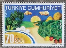Turquie - YT N°3167 - EUROPA / La Gastronomie - 2005 - Neuf - 1921-... Republic