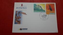 L'Argentine FDC Une Année Des Océans 1999 - Milieubescherming & Klimaat