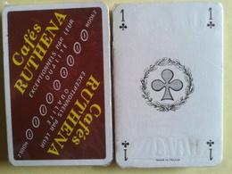 Cafés RUTHENA. Exceptionnels Par Leur Qualité.Rodez. Jeu Neuf De 32 Cartes Sous Blister - Playing Cards (classic)