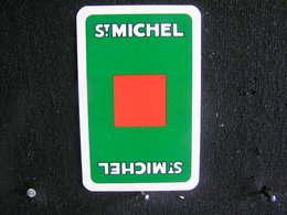 Playing Cards / Carte A Jouer / 1 Dos De Cartes, Inscription  Publicitaire / Cigarettes - Sigaretten - ST. MICHEL - Fume-Cigarettes