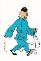 Carte Postale HERGE Pour Tintin éditions Moulinsart 2010 - Postcards