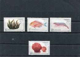 CHINA 1992 Sea Life.MNH - Ongebruikt