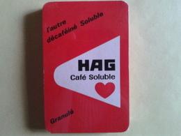 HAG Café Soluble. Jeu Neuf De 32 Cartes Sous Blister - Playing Cards (classic)