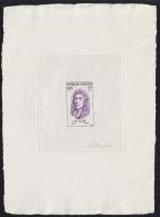 France (1956) Lulli. Die Proof In Violet Signed By The Engraver MAXELIN. Yvert No 1083.  Scott No 812. - Artistenproeven