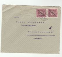 1919c Wien  AUSTRIA Stamps COVER - 1918-1945 1st Republic