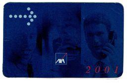 Portugal , AXA , 2001 ,  Calendar , Calendrier , Insurance , Assurance , Seguros - Small : 2001-...