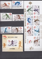 North Korea 10.05.1992 IMPERF Mi # 3289-94, Kbogen 3289-95 Bl 272 Barcelona Summer Olympics (II) MNH OG - Verano 1992: Barcelona