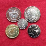 Cocos Keeling Isl. Set 5 10 20 50 Cents $ 1 - 2004 UNC - Coins