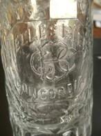 Oud Bier Glas Met Oor  HELLES  BIER  CONCORDIA  AALST - Verres