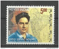 INDIA, 2008, Birth Centenary Of Damodar Kosambi, (Statistician, Mathematician,Indologist), MNH, (**) - Indien