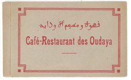 Carnet 8 Cpa Café Restaurant Des Oudaya , Rabat - Rabat
