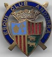 Esqui Club Andorra - Insigne émaillé - Sports D'hiver