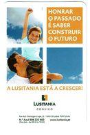 Portugal , LUSITANIA ,  2010 ,  Calendar , Calendrier , Insurance , Assurance , Seguros - Small : 2001-...