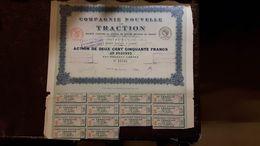 Compagnie Nouvelle De Traction Action 50 Francs 14 05 1920 Cod.doc.283 - Agricoltura