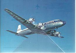 United Air Lines Douglas DC-7 Mainlinear N6301C DC 7 - 1946-....: Moderne