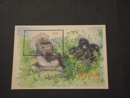UGANDA - BF 1992 GORILLA - NUOVO(++) - Uganda (1962-...)