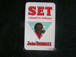 Playing Cards / Carte A Jouer/1 Dos De Cartes,Inscription  Publicitaire / JOHN THOMASS BRUX. BELGIQUE - Cigarette Holders