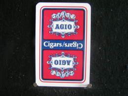 Playing Cards / Carte A Jouer/1 Dos De Cartes,Inscription  Publicitaire / Agio - Around Cigars