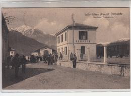 Demonte Valle Stura-Stazione Tramviaria -Vg Il 18.04.1918 -Originale 100%-an - Cuneo