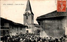 FOISSIAT - Canton De Montrevel-en-Bresse Sortie De Messe - AIN  01340  N°1772  Cpa Voyagée En 1916  En B.Etat - France