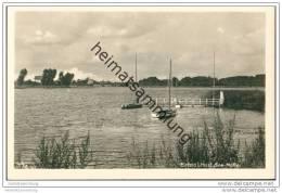 Einfelder See - Segelboote - Foto-AK 30er Jahre - Neumünster