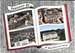 St Marcellin En Forez  Souvenir - Sonstige Gemeinden