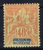 Oceanie Yv  Nr  10 MH/* Flz/ Charniere - Unused Stamps