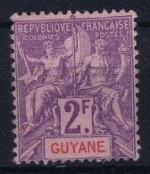 Guyane Yv  Nr   48 Not Used (*) SG - Guyane Française (1886-1949)