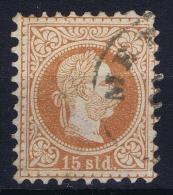 Austria: Levant Mi Nr 5 II Obl./Gestempelt/used  1867 - Oriente Austriaco