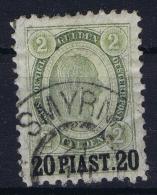 Austria: Levant Mi Nr 231 A Obl./Gestempelt/used - Oriente Austriaco