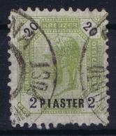Austria: Levant Mi Nr 28 C  Perfo L 11   Obl./Gestempelt/used - Oriente Austriaco