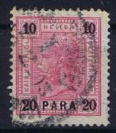 Austria: Levant Mi Nr 40 Obl./Gestempelt/used - Oriente Austriaco