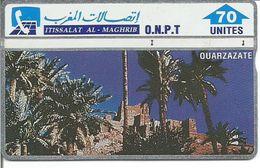 Télécarte Du MAROC - OUARZAZATE ( 70 U ) - Maroc
