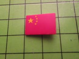 414A Pin's Pins / Beau Et Rare : Thème AUTRES / DRAPEAU CHINE ROUGE - Other