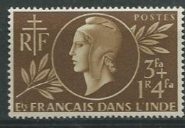 Inde Française    -    Yvert N° 233 * *   -  Ava18909 - Indië (1892-1954)