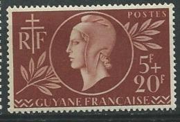 Guyane Française          Yvert N° 179 **  -  Ava18916 - Ongebruikt