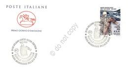 FDC Cavallino Italia Repubblica 2001 - Museo Archeologico Alto Adige - Figurato - Francobolli