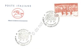 FDC Cavallino Italia Repubblica 2001 - Quarto Stato - Pelizza Da Volpedo - *** - Francobolli