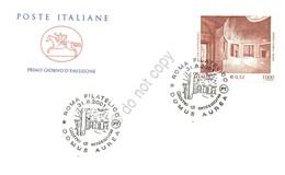 FDC Cavallino Italia Repubblica 2001 - Domus Aurea - Annullo Tematico *** - Francobolli