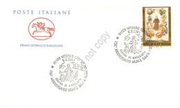 FDC Cavallino Italia Repubblica 2001 - Morte Di Santa Rosa Da Viterbo *** - Francobolli